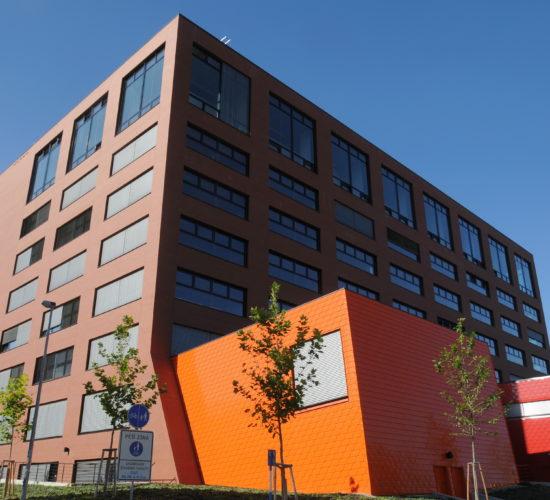 ČVUT Nová budova architektury